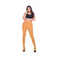 90 Denier Curvy Super Stretch Tights (Mustard) by Pamela Mann