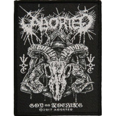 Aborted 'God of Nothing' Patch 7cm x 10cm