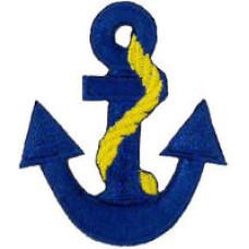 Anchor (Blue) Patch 5cm x 4.4cm