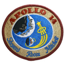 Apollo 14 Embroidered Patch