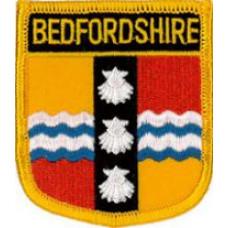 """Bedfordshire County Patch 7cm x 6cm (2 1/2"""" X 2 3/4"""")"""
