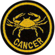 Zodiac - Cancer Patch 5cm Dia