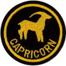 Zodiac - Capricorn Patch 5cm Dia
