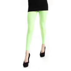 Womens - Footless Tights - 50 Denier - Green by Pamela Mann