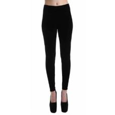 Womens - Black Velvet Leggings by Pamela Mann  (Made by hand in the UK)