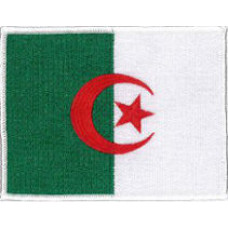 "Algeria Patch 11.5cm x 9cm (4 1/2"" x 3-1/2"")"