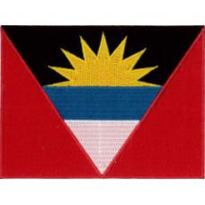 Antigua Barbuda Flag Patch 12cm x 9cm