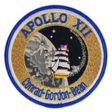 Apollo 12 Embroidered Patch