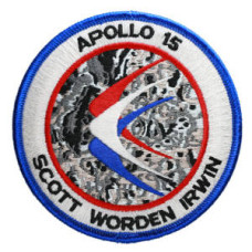 Apollo 15 Embroidered Patch
