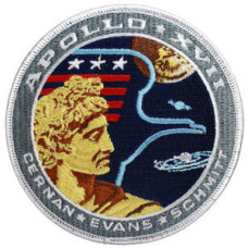 Apollo 17 Embroidered Patch