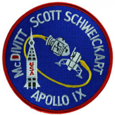 Apollo 9 Embroidered Patch