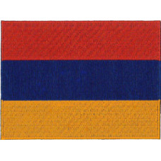 Armenia Flag Embroidered Patch 12cm x 9cm