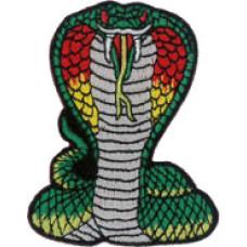 "Cobra Embroidered Patch 7cm x 5.5cm (2 3/4""X 2 1/4"")"
