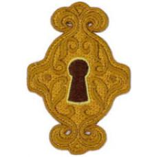 """Keyhole Patch 7.5cm X 5cm (3"""" X 2"""")"""