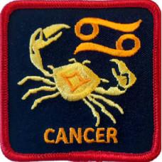 Zodiac - Cancer Square Patch 7cm x 7cm