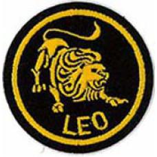 Zodiac - Leo Patch 5cm Dia