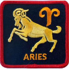 Zodiac - Aries Square Patch 7cm x 7cm