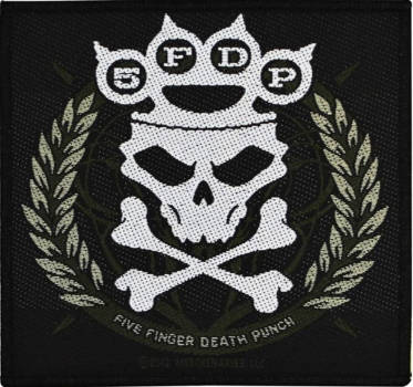 Five Finger Death Punch - Knuckle Crown Patch