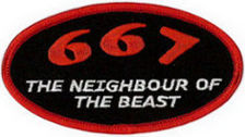 667 The Neighbour of the Beast Patch