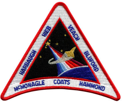 STS - 39 Embroidered Patch