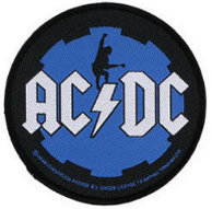 AC/DC Angus Cog Woven Patch