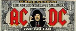 AC/DC - Back in Black Official Patch