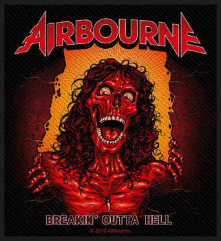 Airbourne - Breakin Outta Hell Patch
