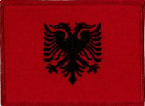 albania embroidered Patch