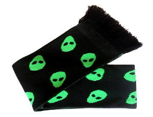 Alien (Green) Scarf