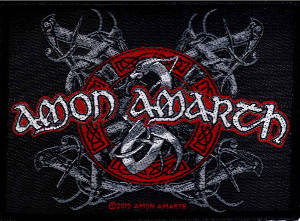Amon Amarth Viking Dog Patch