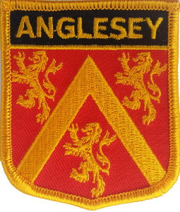 Anglesey County Embroidered Patch