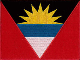 Antigua Barbuda Flag Patch