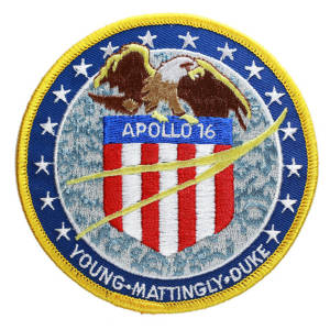 Apollo 16 Embroidered Patch