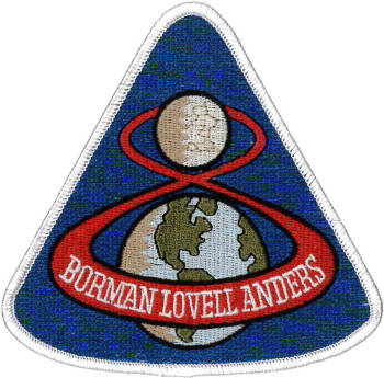 Apollo 8 Embroidered Patch