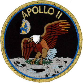 Apollo 11 Embroidered Patch
