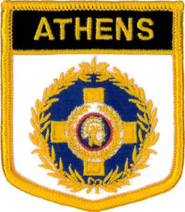 Athens (City of) Embroidered Patch