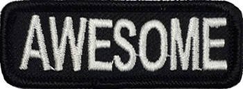 Awesome Embroidered Patch