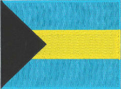 Bahamas Flag Embroidered Patch