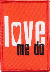 Beatles Love Me Do Patch