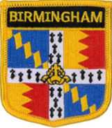Birmingham (City of) Embroidered Patch