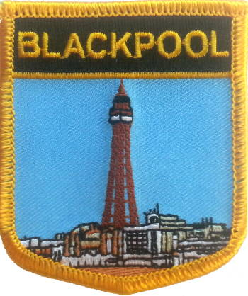 Blackpool (City of) Embroidered Patch