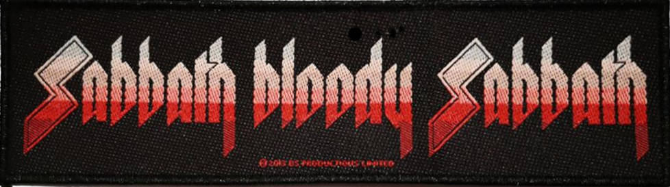 Black Sabbath - Sabbath Bloody Sabbath Super Strip Patch