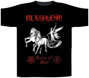 Blasphemy - Gods of War T Shirt​