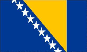 Bosnia-Herzegovnia Flag