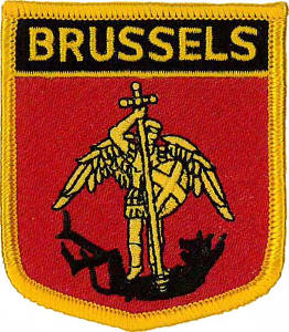 Brussels (City of) Shield Patch