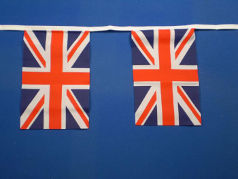 Union Jack Bunting 30 Cloth Fabric flags