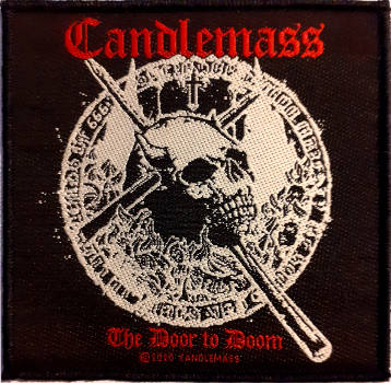 Candlemass - The Door To Doom Patch