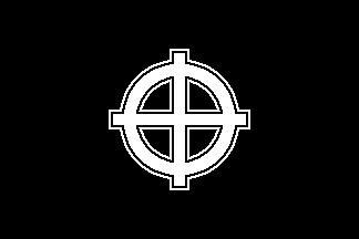 Celtic Cross (Black) Flag
