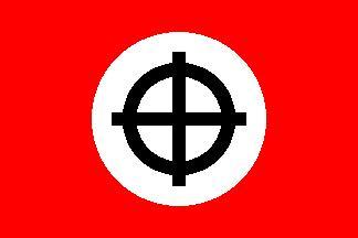 Celtic Cross (Red) Flag
