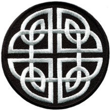 Celtic Knot Embroidered Patch